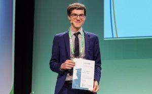 05.06.2018: SCOR-Preis für Aktuarwissenschaften für Markus Haas