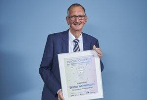 31.10.2018: Auszeichnung für Prof. em. Dr. Walter Ackermann