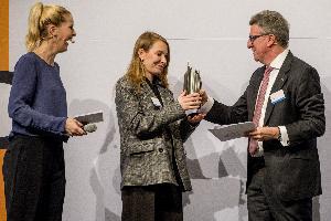 29.03.2019: Karriere Preis der DZ Bank Gruppe für Arina Brutyan