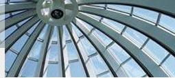Die Kuppel des Weiterbildungszentrums Holzweid